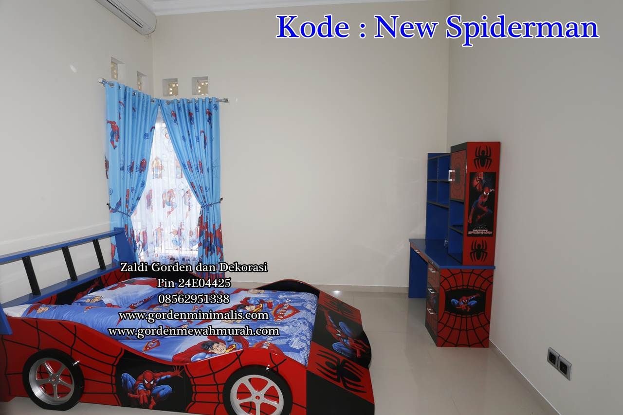 Gorden anak spiderman