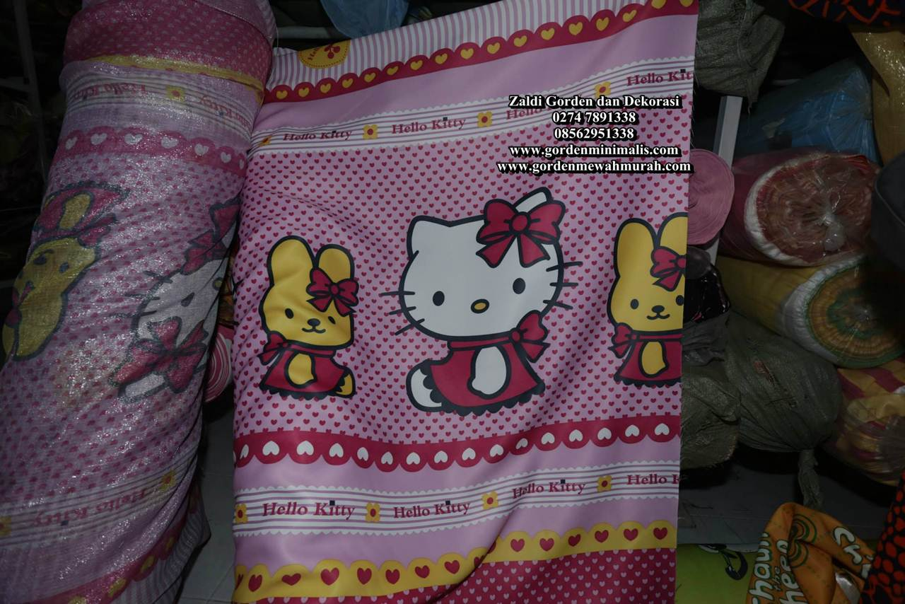 Gorden Hello kitty terbaru gorden anak