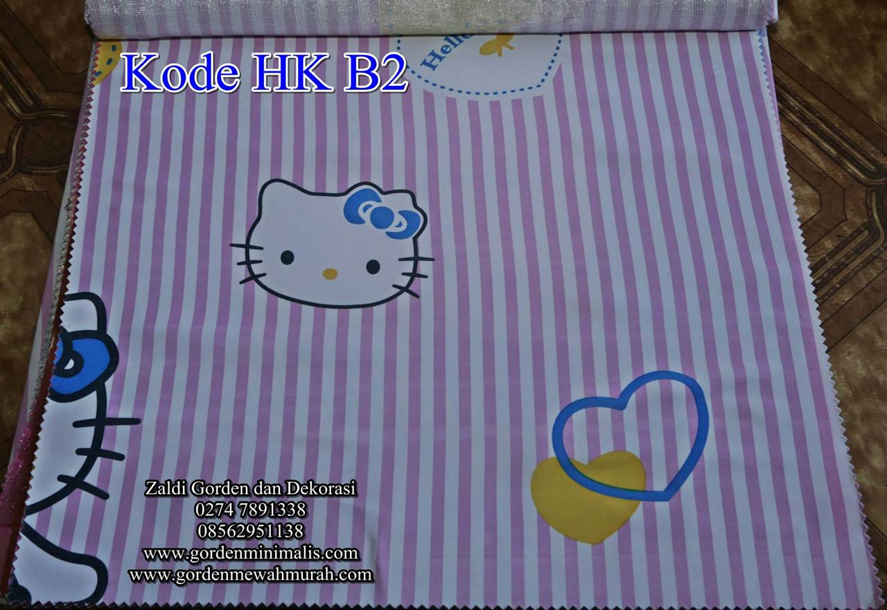 Gorden Hello Kitty Gorden Anak Hello Kitty Gorden Kartun Hello kitty ...