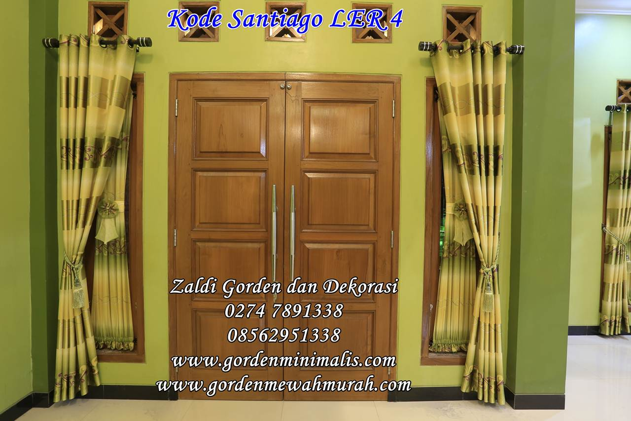 Gorden MInimalis bahan blackout model smokering santiago LER 4