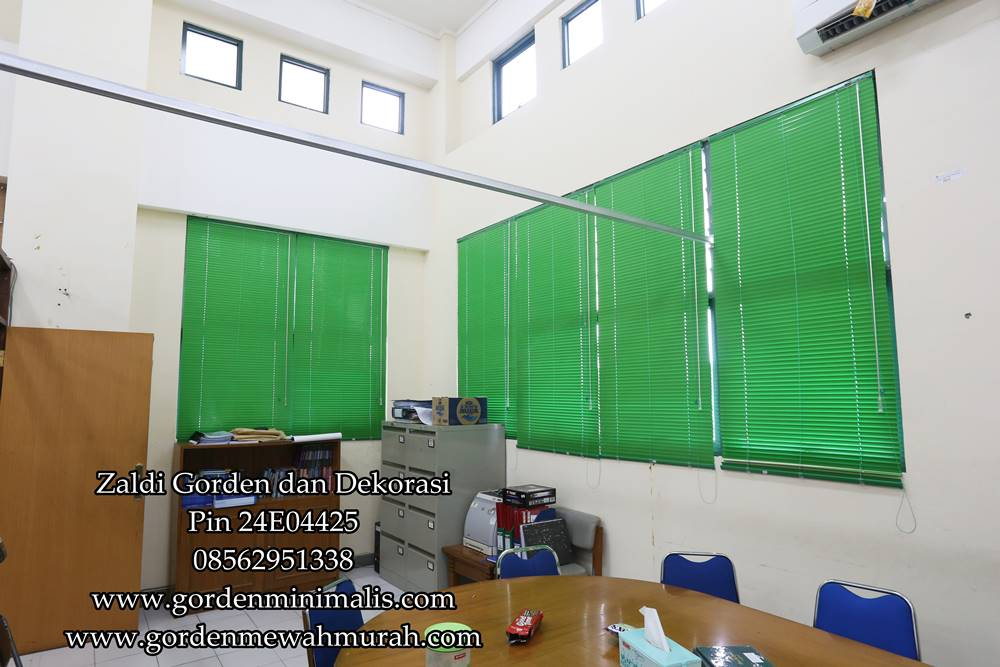 Gorden horizontal blind sharp point onna shinichi pelangi gorden horizontal blind murah