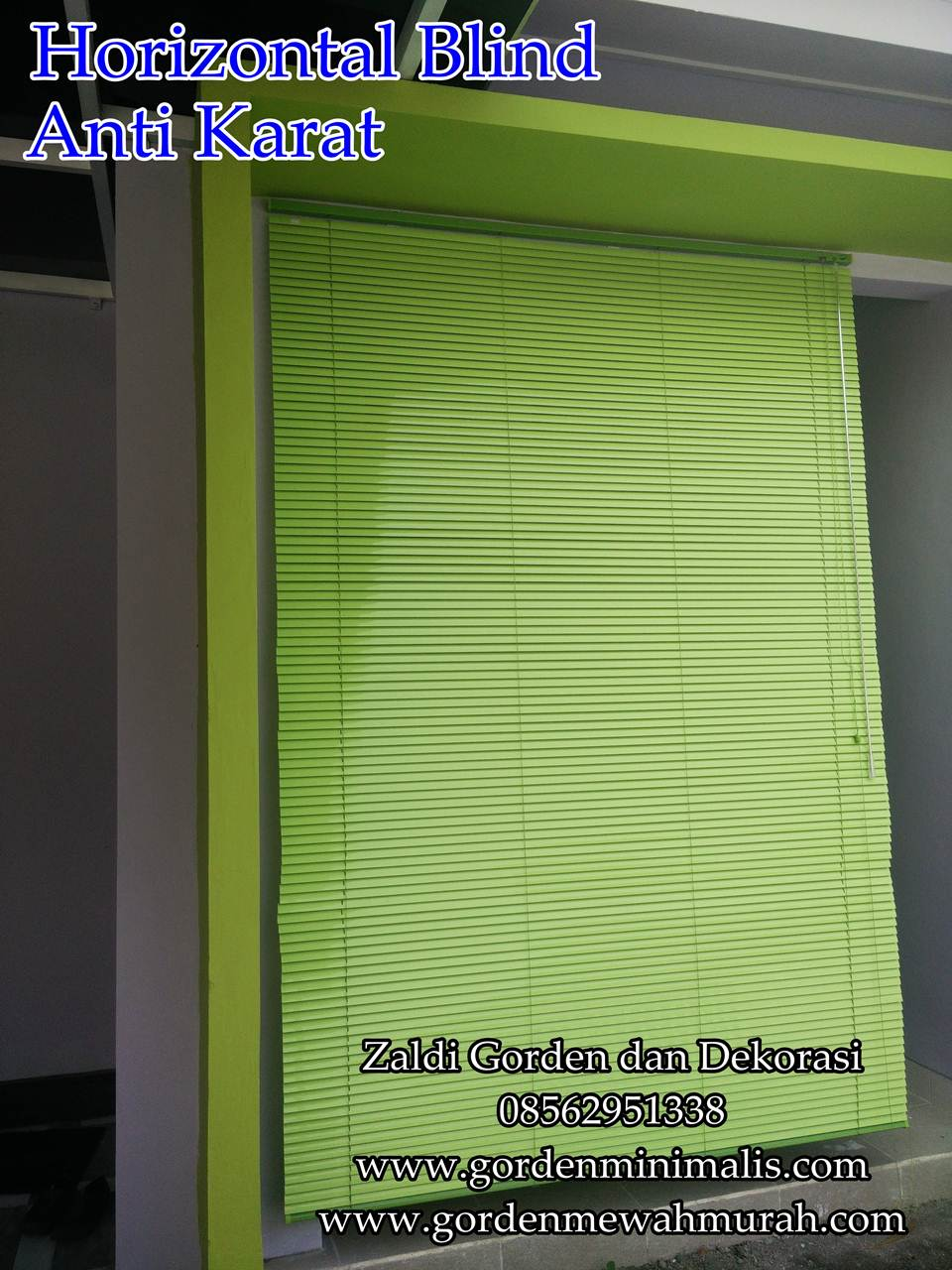 Jual Horizontal blind murah horizontal blind kayu horizontal blind onna merk sharp point harga horizontal blind terbaru