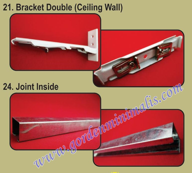 bracket double wall join inside