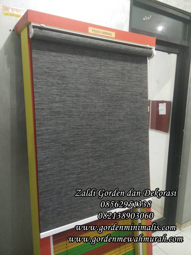 Roller blind outdoor murah harga permeter merk sharp point onna tokopedia vertikal blind horizontal blind wooden blind roller blind dimout roller blind blackout roller blind solar screen suntex blind