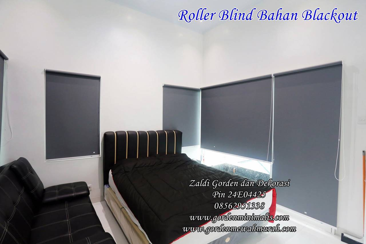 Roller blind outdoor murah harga permeter merk sharp point onna tokopedia vertikal blind horizontal blind wooden blind roller blind dimout roller blind blackout roller blind solar screen