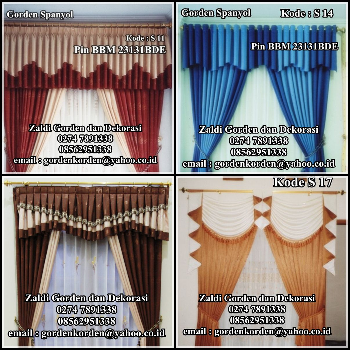 Gorden Kayu ( Wooden Blind )